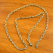 "CN22 Nepalese Pre-Cut Handmade Raw Brass Chain 24"" Nepal Beading Jewelry Making"
