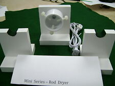 Mini Series --- 10 -12  RPM-ROD DRYING-DRYER  MOTOR  KIT --  with 2 rod stands