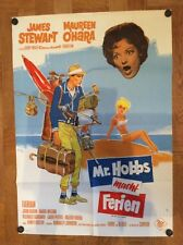 Mr. Hobbs macht Ferien (Pl. '62) - James Stewart / Maureen O'Hara / Dill-Grafik