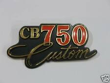 HONDA CB750 custom       emblema cover laterale