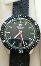 Rare men's vintage NOS Tissot Seastar  divers watch excellent/ box & tags