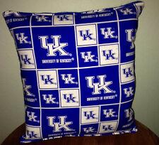 University Kentucky Pillow Football Pillow UK Pillow NCAA HANDMADE In USA