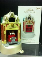 Hallmark Ornament 2012 Kringleville Fire Station
