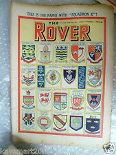 THE ROVER Comic, No.1333, 24th Feb 1950- Do you wear a Badge on your School Cap?