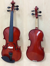 Brand New Caraya 3/4 Violin+Bow,Rosin,Chin-rest,Spare Strings,Foam Hard Case