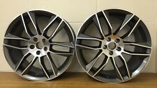 "20"" GUNMETAL & POLISH STAGGERED TO FIT JAGUAR NEW XF,TYPE F,FORD MONDEO,VOLVO"
