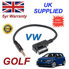 Genuine VW GOLF MMI 000051446D 3.5mm jack MP3 iPod in car Cable replacement