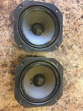 Vintage JBL LE5-6 midranges speaker pair