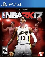 NEW NBA 2K17 SONY PLAYSTATION 4 PS4 BASKETBALL GAME Standard Edition SEALED