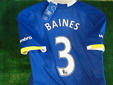 EVERTON HOME SHIRT 2016-17  **BAINES** BNWT SIZE LARGE
