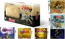 3DS XL Link Between Worlds with all 3DS Zelda Games - All New and Sealed Bundle