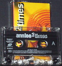 Ann Lee ‎2 Times CASSETTE SINGLE Systematic ‎SYSMC 31 Synth-pop Euro House UK
