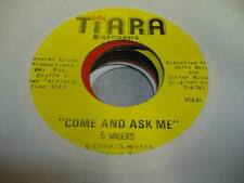 Northern Soul NM! 45 5 WAGERS Come and Ask Me (Vocal) on Tiara