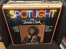 Petula Clark Spotlight On.. vinyl 2x LP NM 1980 UK PRT Records