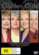 THE GOLDEN GIRLS : COMPLETE SEASON 7 english cover  -  DVD - UK Compatible