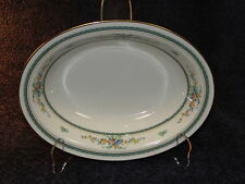 Noritake Ivory China Amenity 7228 Oval Serving Bowl Gold Trim - EXCELLENT!
