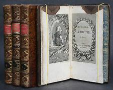 BÜRGERS GEDICHTE,4 GANZLEDERBÄNDE,KUPFERSTICHE,1789-1792,RAR