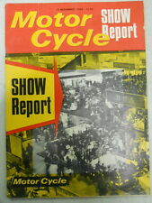 Motor Cycle Magazine, Nov 17, 1966, All the Ranges, Show Report,   blue box 1