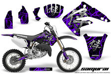 HONDA CR 85 03-07 GRAPHICS KIT CREATORX DECALS STICKERS SAMURAI PRB