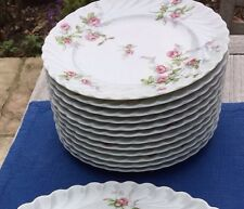 6 assiettes Porcelaine De Limoges Haviland Sylvie 1970 . 2 Lots .