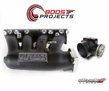 SKUNK2 Intake Manifold Pro Black+ Throttle Body 74mm 02-06 Acura RSX K20A2/K20Z1