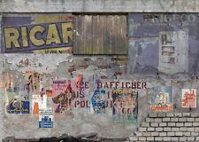 Diorama présentoir Mur délabré - Decayed wall - 1/43ème - #MR43A043