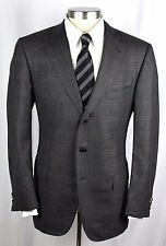 New ERMENEGILDO ZEGNA 15 MilMil 15 Grey Flannel Wool Coat Jacket 54 44 44R $1895