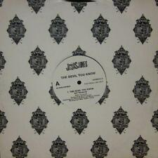 """Jesus Jones(12"""" Vinyl Promo)The Devil You Know-Food-12PERVDJ 2-UK-VG+/NM"""