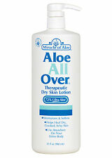 Aloe All Over 32 oz. By Miracle of Aloe Entire Body,  Unisex, Cream