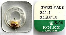 ROLEX 100% original crown. Part number 24-531-3 New. Swiss made (Corona reloj)
