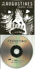 WE ARE AUGUSTINES Chapel Song w/ UNRELEASED ohio trk UK PROMO DJ CD single 2011
