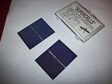 Qty. 2 Small Supercell Photovoltaics Solar Cells (Free shipping)