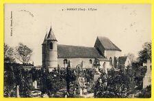 cpa 18 - ÉGLISE et CIMETIÈRE de BANNAY en 1928 (Cher) Tombes Sépultures