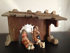 Anri Ferrandiz nativity set with Swarovski cyrstals....extremely Rare---Limited!