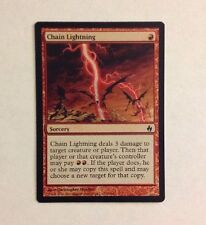 Magic the Gathering - FOIL Chain Lightning x 1 MTG Premium Deck Series: Fire