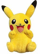 "10"" Pokemon Pikachu With Arms Up Pocket Monster Plush Toy Stuffed Doll"