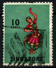 Singapore 1968-73 SG#105b 10c Definitive P13 Used #D47005