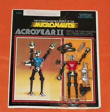 vintage Mego Micronauts red ACROYEAR II MOC
