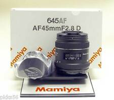 Mamiya 645 AFD III / AFD II / AFD / DF / Phase One 45mm/2.8 D lens