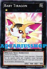 Yu-Gi-Oh! Baby Tiragon Italiano SP13-IT027 Fortissima Carta di Yuma in Zexal