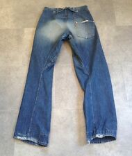 LEVI'S TWISTED/ENGINEERED JEANS SIZE 30 X 34 ONE BACK POCKET HEM WEAR STILL VGC