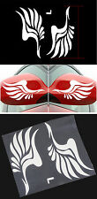 Mirror Wings funny car van, bumper, windows, lorry JDM vinyl decal sticker