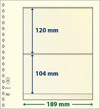 Lindner T-Blanko-hojas con dos Bolsas de 10 Paquete Arte Núm. 802 202