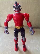 "Power Rangers Samurai Battlized Red Ranger 10"" Action Figure Bandai 2010 Sounds!"