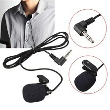 Portable Mini Microphone MIC Micro-cravate Col Rever Jack 3.5mm Pince Clip Pr PC