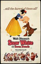 SNOW WHITE LAMINATED MINI MOVIE A4 POSTER NO 3  DISNEY