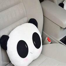 Popular Sweet Panda Plush Auto Waist Cushion Car Seat Neck Rest Headrest Pillow