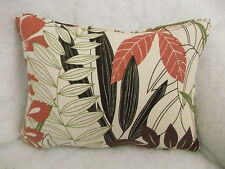 "HARLEQUIN  FABRIC ""OLEANA"" OBLONG CUSHION  20"" X 14 ""(51 CM X 36 CM)"