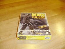 WWII Online: Blitzkrieg... PC cd -rom Big Box  New Sealed