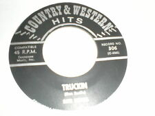 Dave Howell 45 Truckin COUNTRY & WESTERN HITS